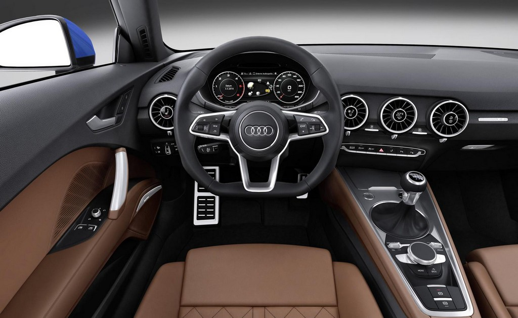 2016 Audi TT Interior 2016 Audi TT in USA , Features and Price