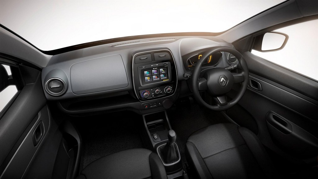 2016 Renault Kwid Interior 1 2016 Renault Kwid : Features and specs