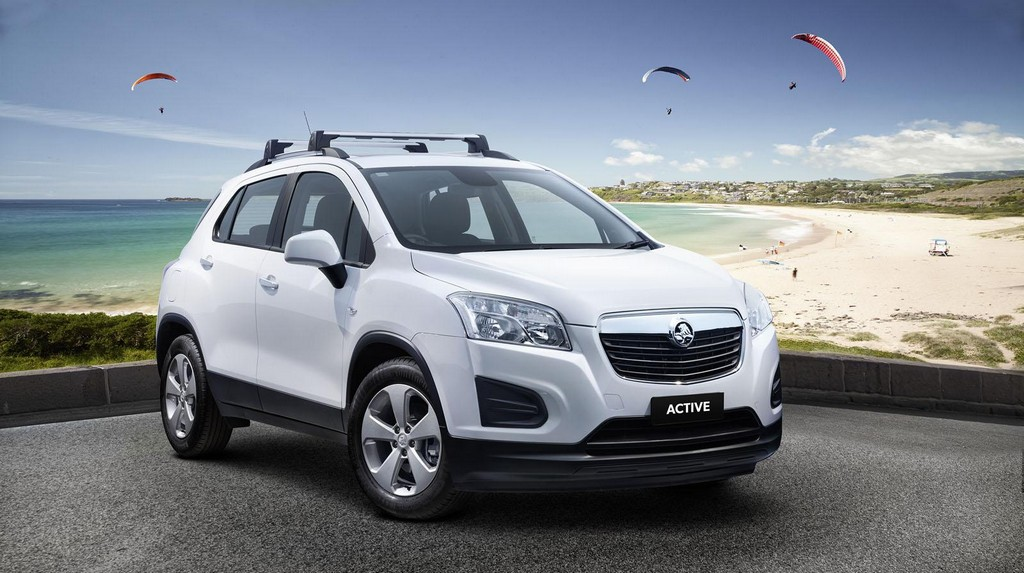 Holden Trax Active New Holden Trax Model : Features and details