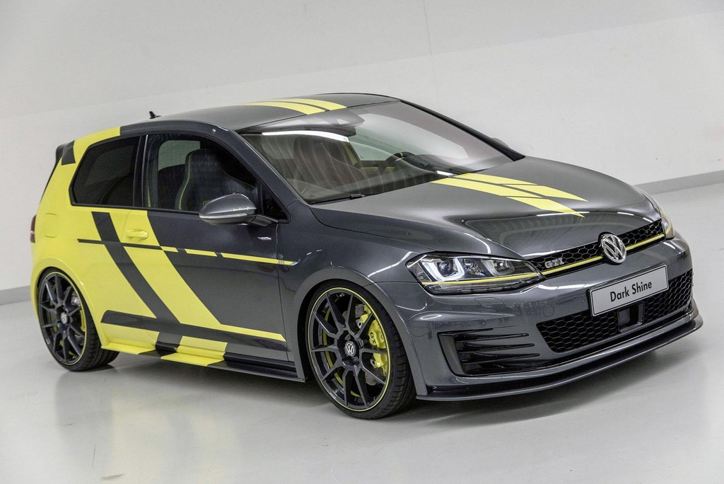 Volkswagen Golf GTI Dark Shine Concept 1 2015 Volkswagen Golf GTI Dark Shine concept car unveiled