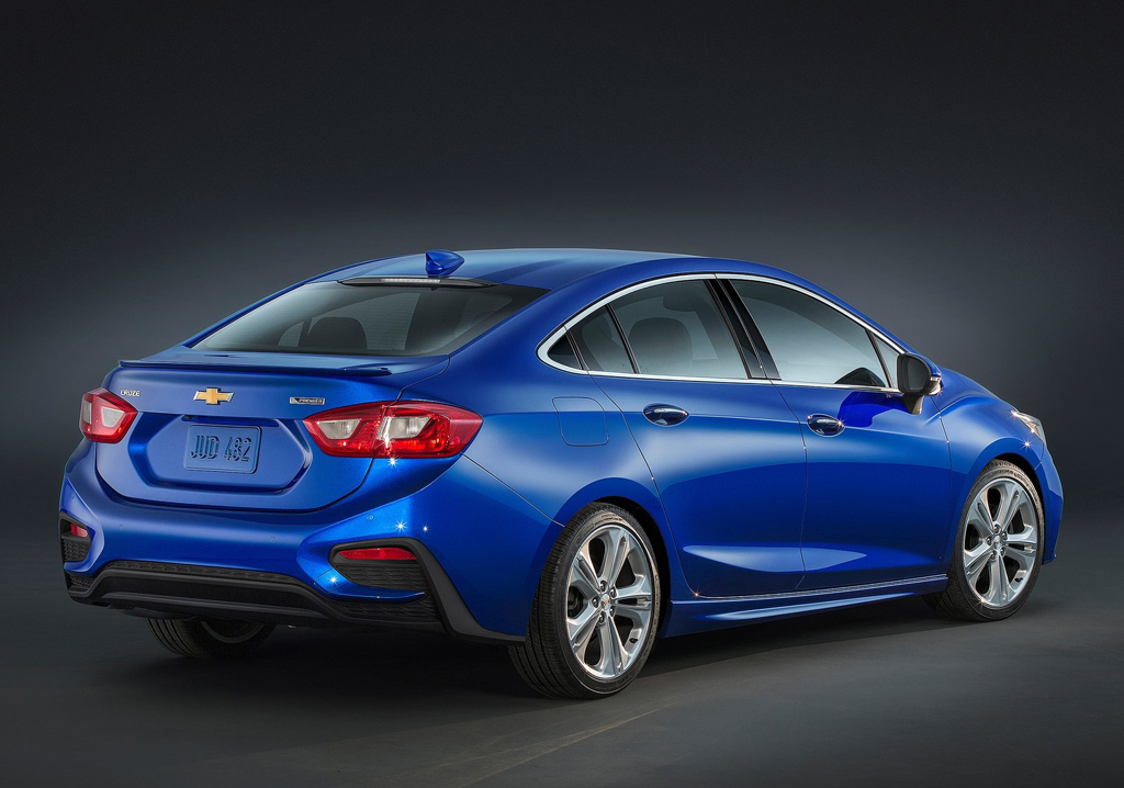 2016 Chevrolet Cruze Sedan 2 All New 2016 Chevrolet Cruze Sedan : Features and details