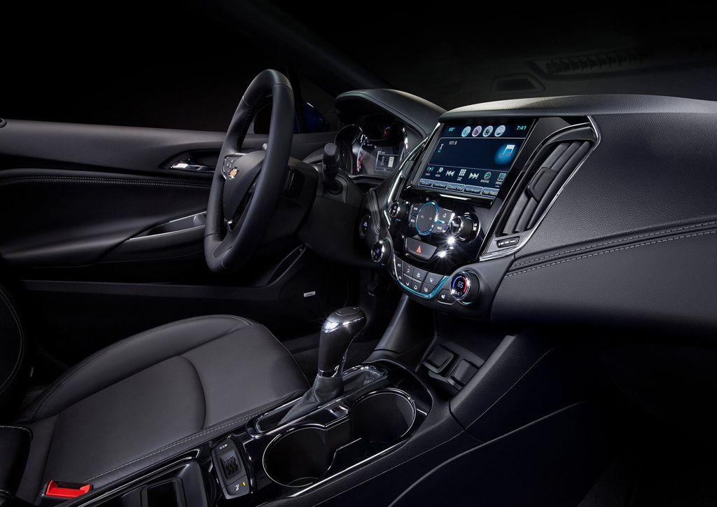 2016 Chevrolet Cruze Sedan Interior 1 All New 2016 Chevrolet Cruze Sedan : Features and details
