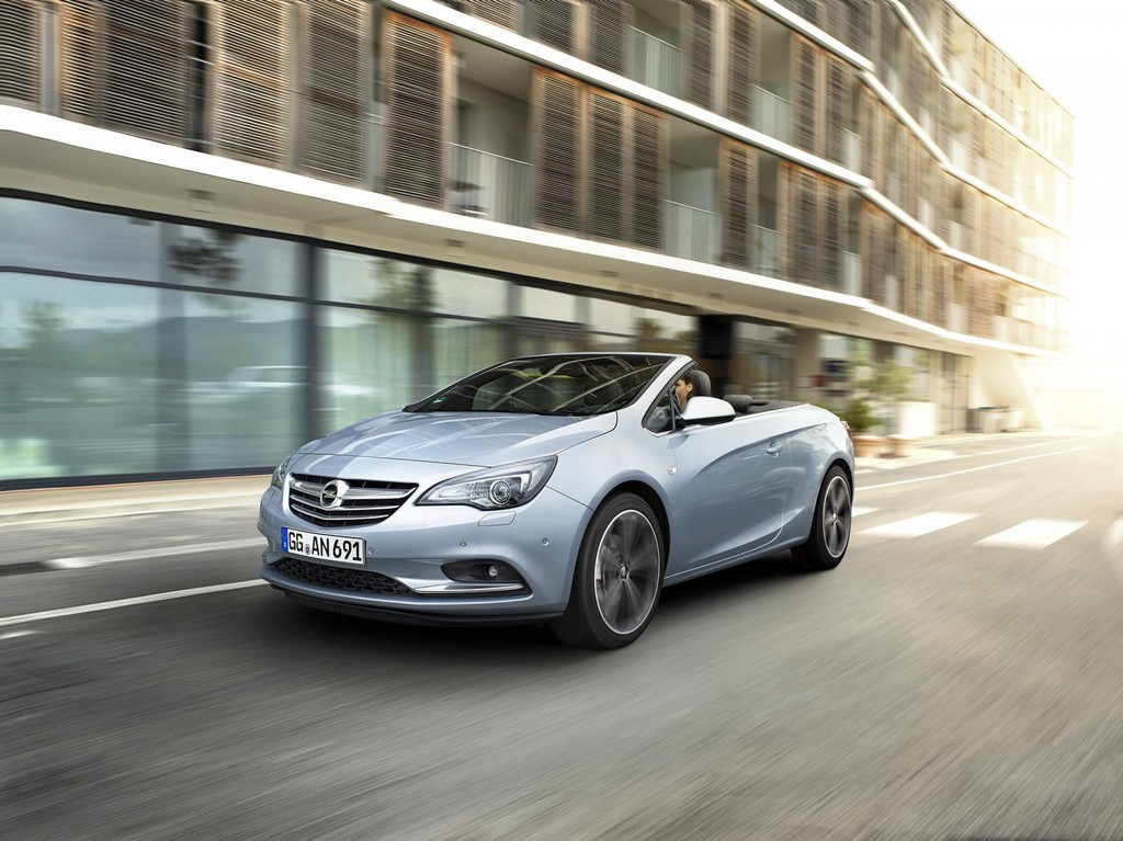 Opel Cascada 2.0 CDTI 1 New Engine For 2015 Opel Cascada