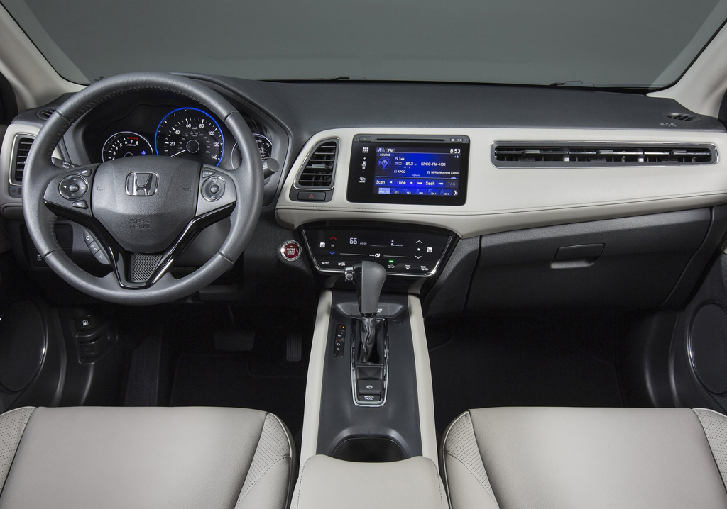 2016 Honda HR V Interior 2016 HONDA HR V : Features and Details