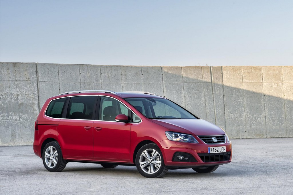 2016 seat alhambra facelift details. Black Bedroom Furniture Sets. Home Design Ideas