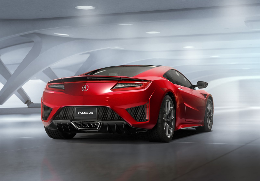 2016 Acura NSX 4 2016 Acura NSX Features and details