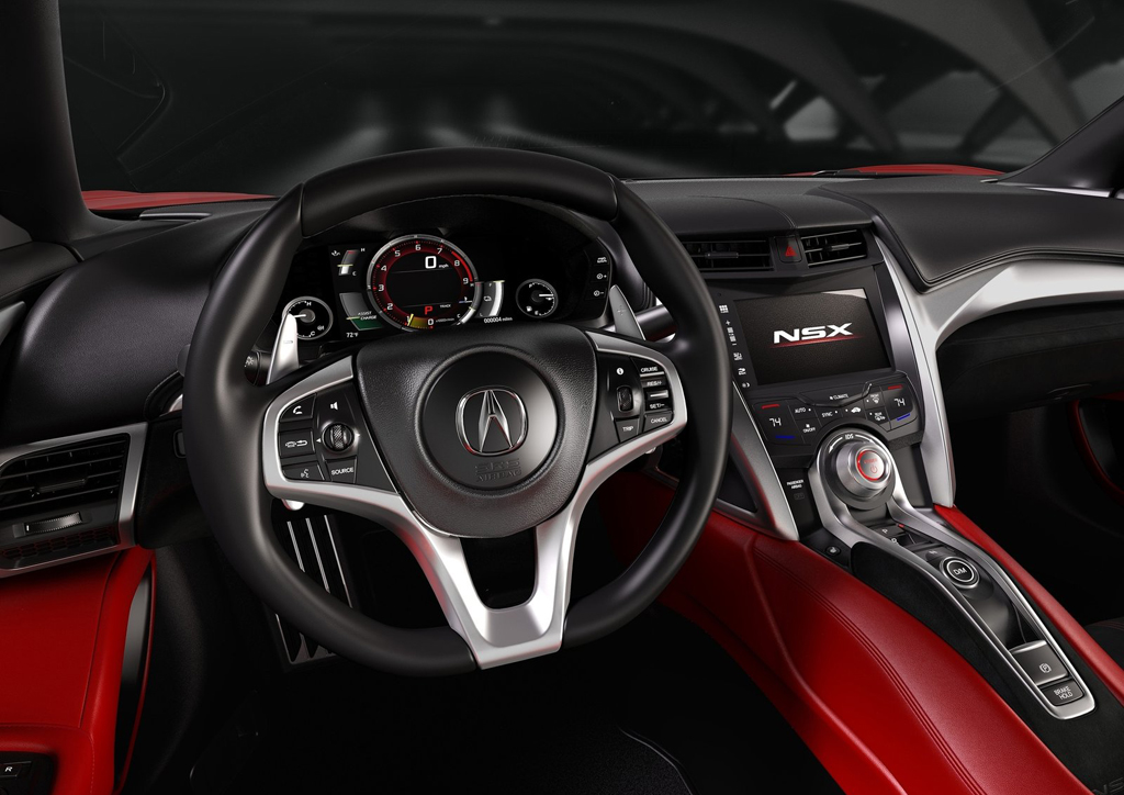 2016 Acura NSX Interior 2 2016 Acura NSX Features and details