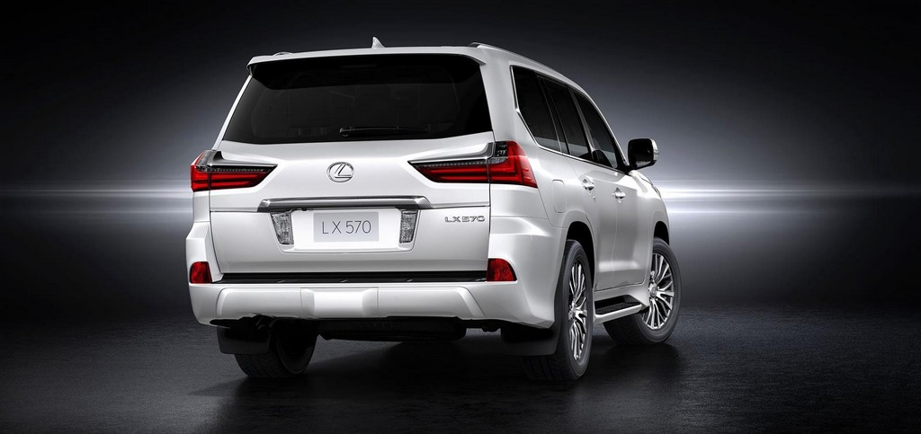 2016 Lexus LX 570 facelift 3 2016 Lexus LX 570 Facelifted : Features and Details