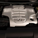 2016 Lexus LX 570 facelift Engine