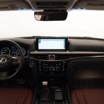 2016 Lexus LX 570 facelift Interior (1)