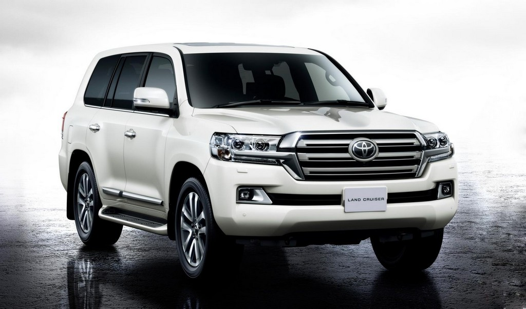 2016 Toyota Land Cruiser 1 2016 Toyota Land Cruiser Facelift Features and Photos