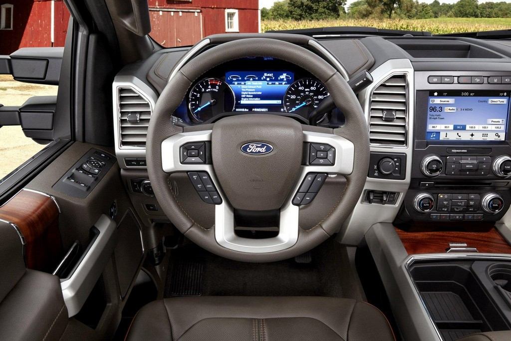 2017 Ford F Series Super Duty Interior 1 2017 Ford F Series Super Duty : Features and Photos