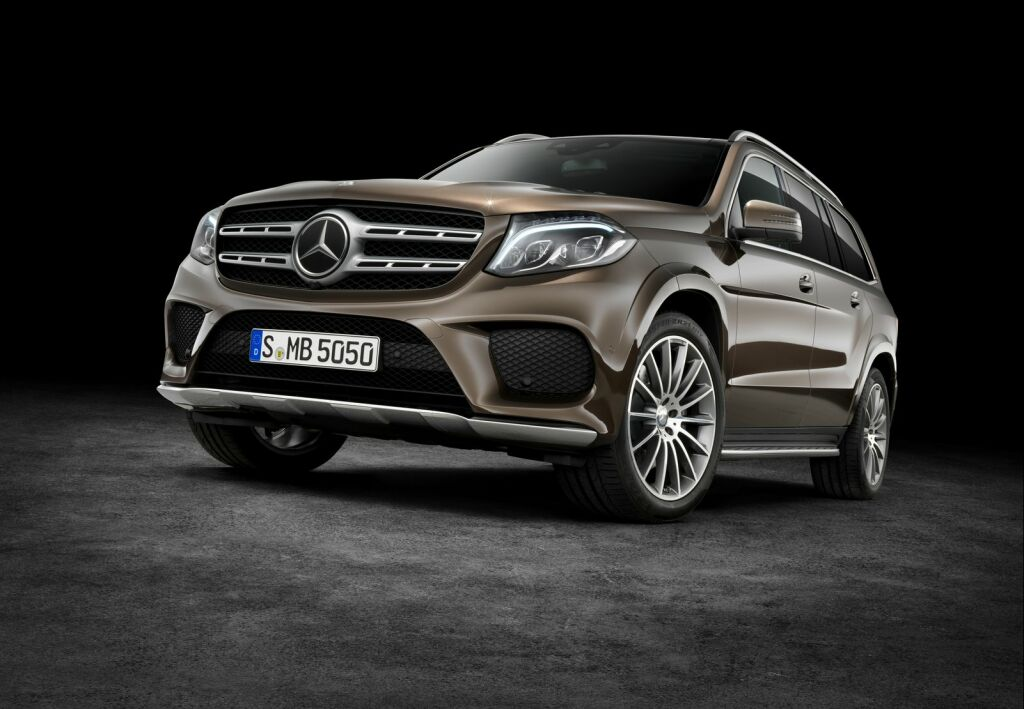 2017 Mercedes Benz GLS 1 2017 Mercedes Benz GLS SUV : Features and details
