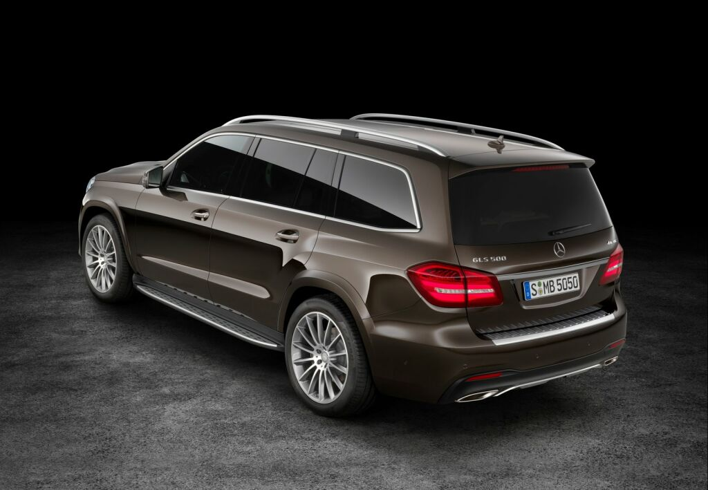 2017 Mercedes Benz GLS 4 2017 Mercedes Benz GLS SUV : Features and details