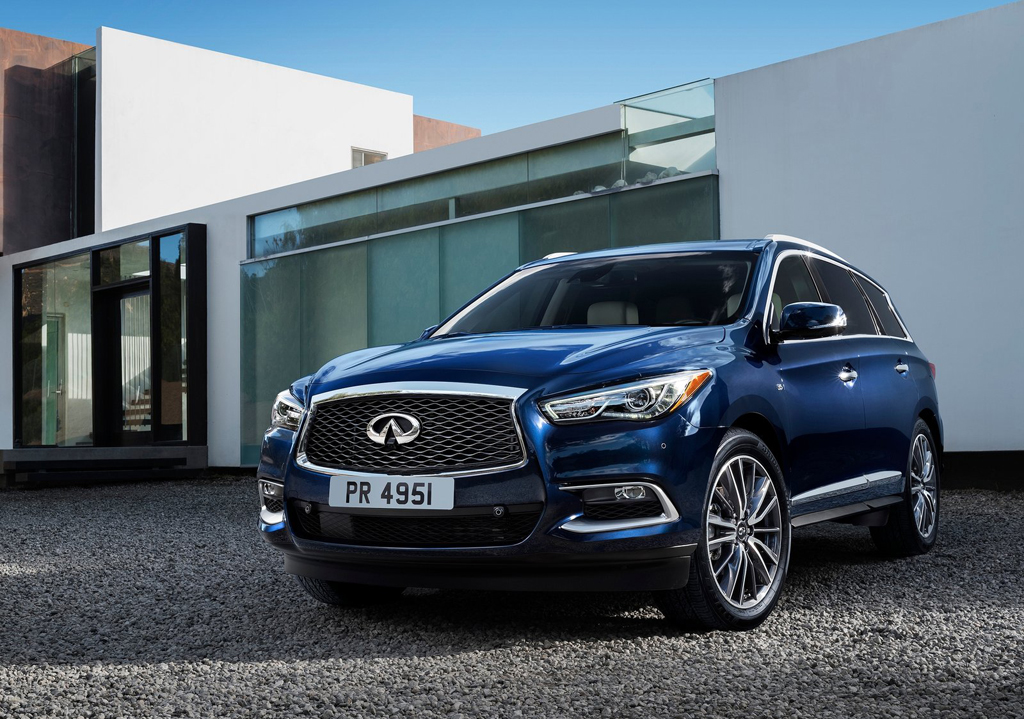 2016 Infiniti QX60 1 2016 Infiniti QX60 Features and Photos