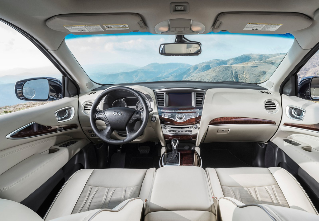 2016 Infiniti QX60 Interior 1 2016 Infiniti QX60 Features and Photos
