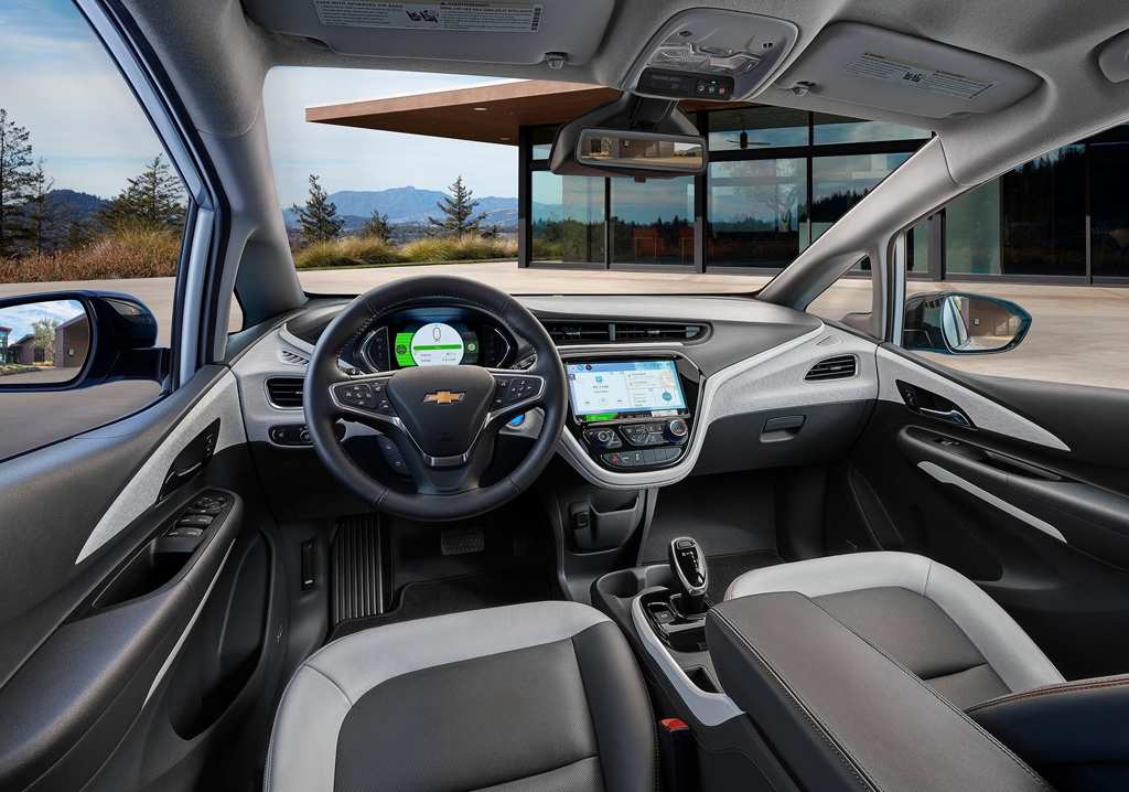 2017 Chevrolet Bolt EV Interior 1 2017 Chevrolet Bolt EV Features