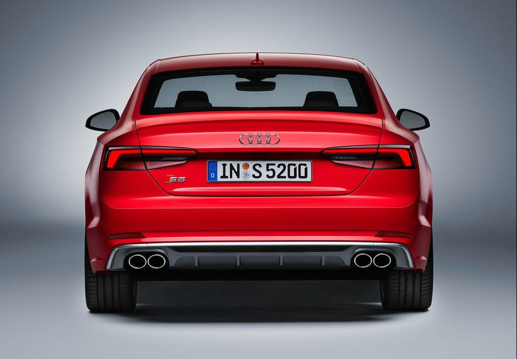 2017 Audi S5 Coupe 4 2017 Audi S5 Coupe Details and photos