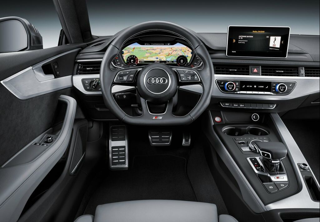 2017 Audi S5 Coupe Interior 2 2017 Audi S5 Coupe Details and photos